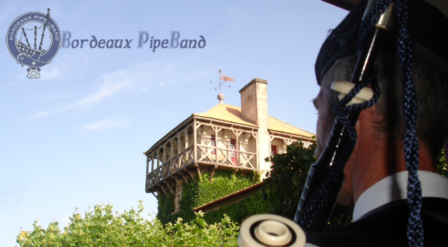 Bordeaux Pipe Band mariage 2013 07