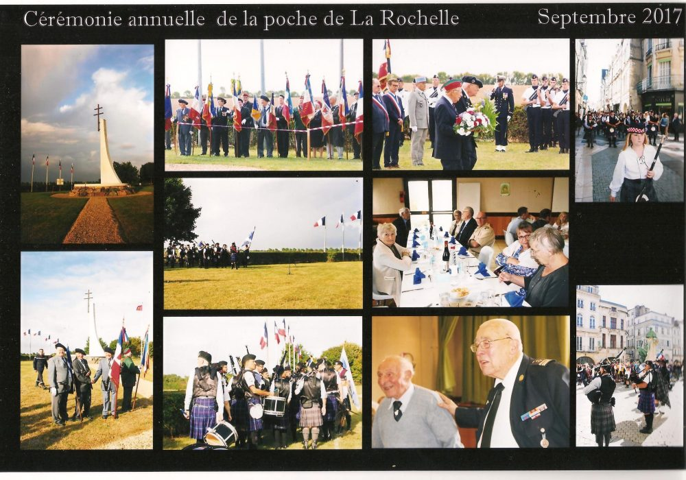 Cérémonie annuelle de la poche de la Rochelle 2017